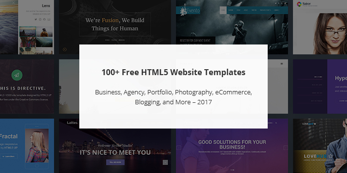 100 Ready To Use Website templates